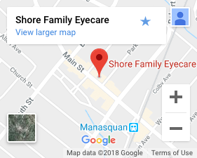 Map to our eye care clinic