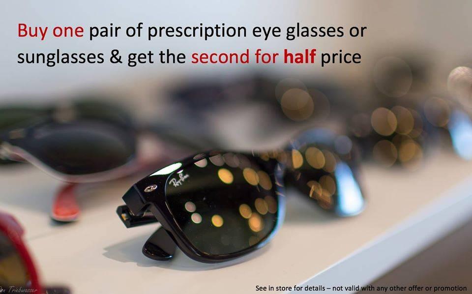 Eyeglass promo