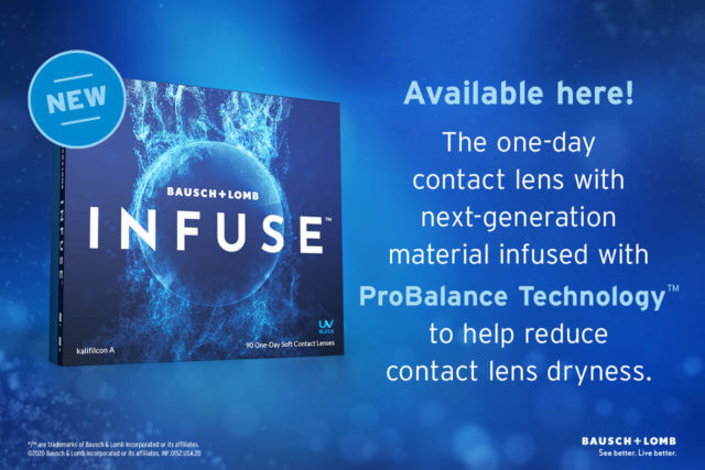 Bausch + Lomb Infuse | Eye Doctor in Columbus ,OH