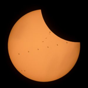 2017 Total Solar Eclipse ISS Transit