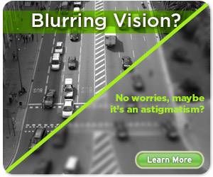 blurring  vision