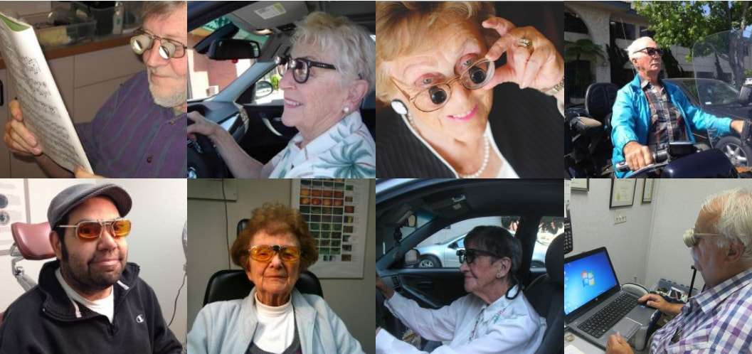 low vision glasses for AMD in Seattle WA
