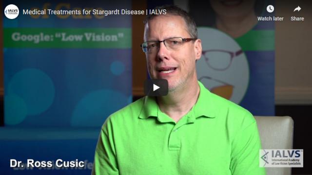 Screenshot 2020 01 27 Medical Treatments for Stargardt Disease IALVS