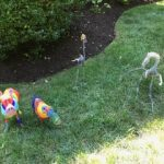 Colorful toy animals in Burlington, MA