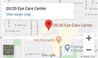 2020eyecarecenter map