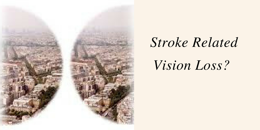 stroke related vision loss from hemianopia