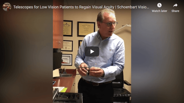 Screenshot 2020 02 05 Telescopes for Low Vision Patients to Regain Visual Acuity Schoenbart Vision Care