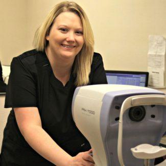 Brittany S Eye Care Technician
