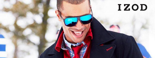 Eye doctor, man wearing Izod sunglasses in Phoenix, AZ