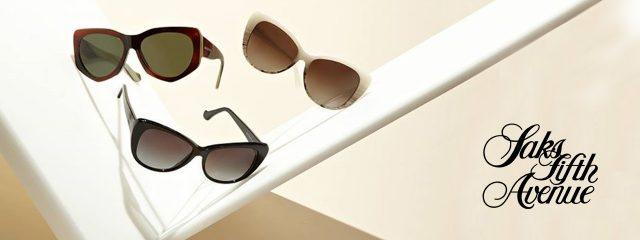 Eye doctor, pairs of Saks Fifth Avenue sunglasses in Phoenix, AZ