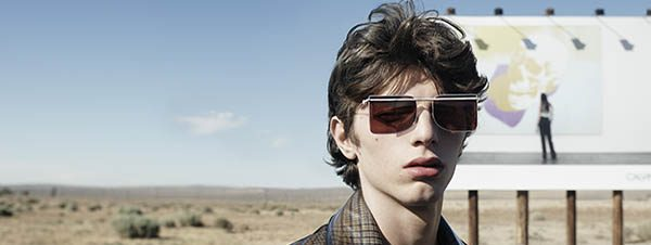 Optometrist, man wearing Calvin Klein Jeans sunglasses in Phoenix, AZ