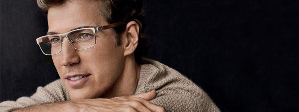 Eye doctor man wearing Polo Ralph Lauren eyeglasses in Houston, TX