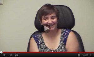 KB discusses how vision therapy helped her with vision issues following a car accident