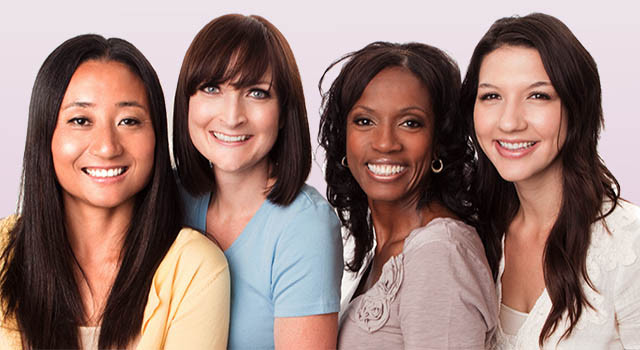 Women in smiling faces, Optometrist in Bridge, NJ
