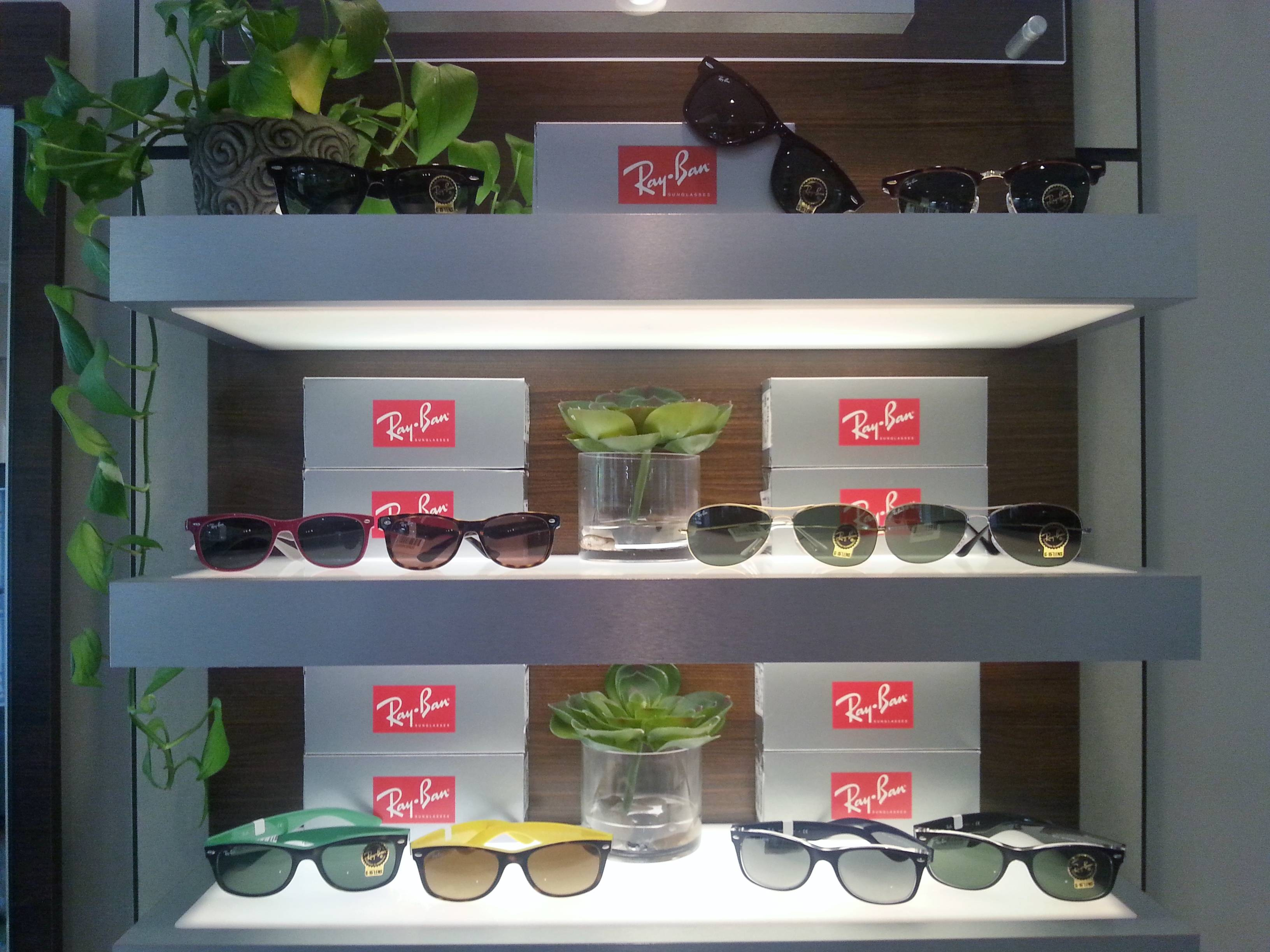 Ray Bans Display Envision EyeCare