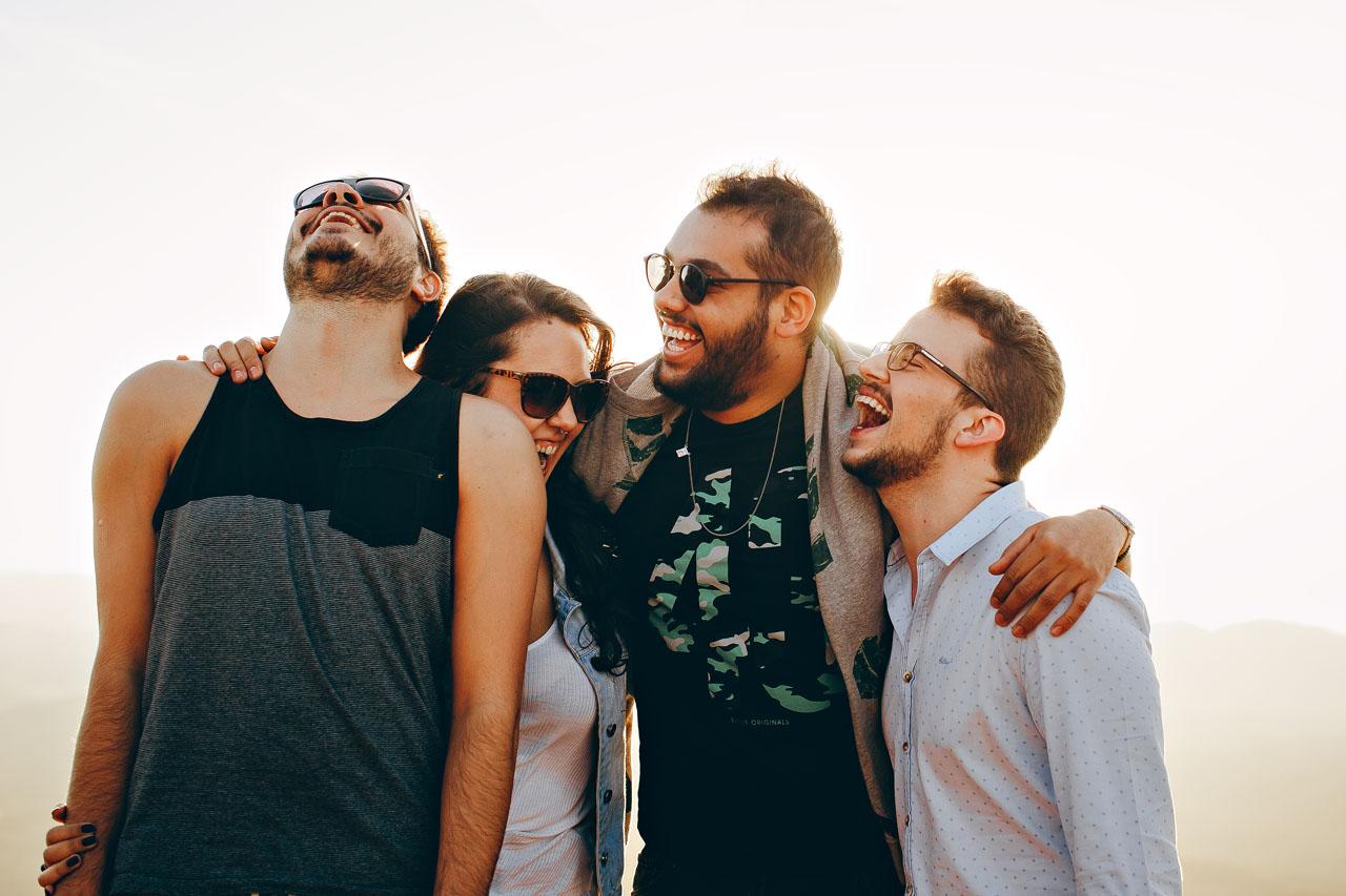 Group Hug Laughing Sunglasses 1280×853