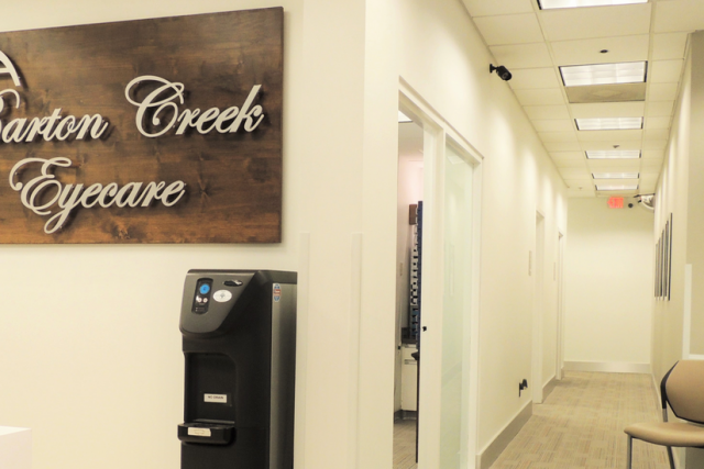 Eye doctor, our Baron Creek Eye care office in Austin, Texas