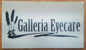Galleria Eyecare Sign in Bee Cave