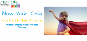 Vision therapy at home with virtual reality goggles using oculus rift by vivid