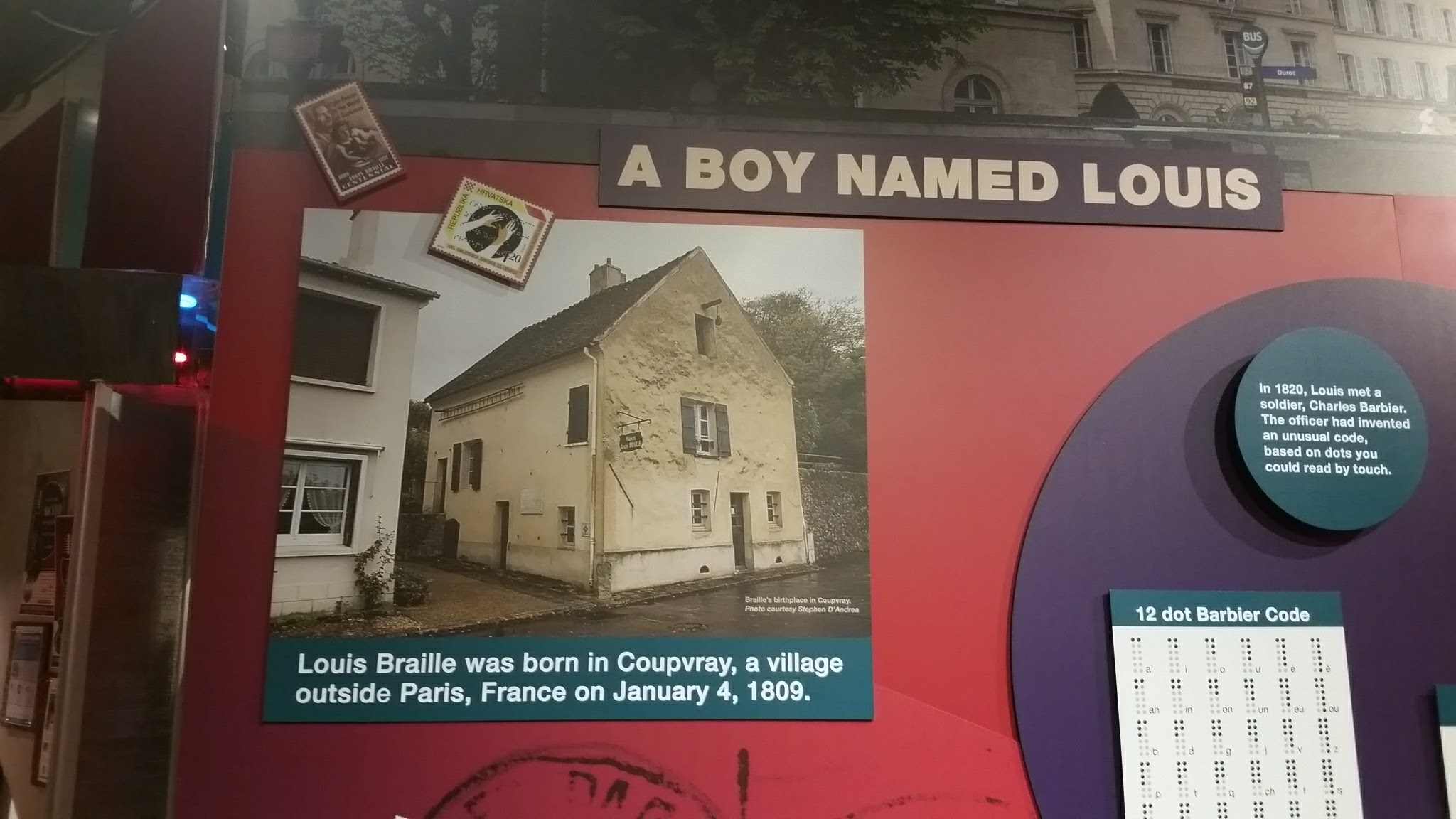 History of Louis Braille
