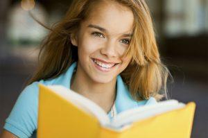 istock one reading girl