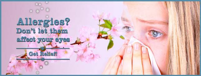 eye allergies, optometrist, Waco & Robinson, TX