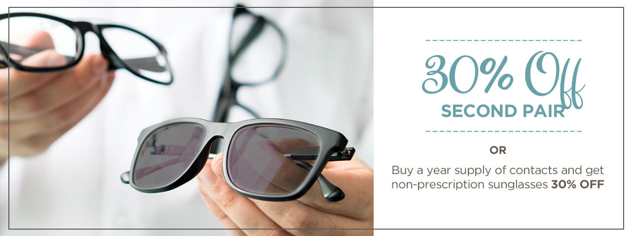 Buy eyeglasses for 30% off