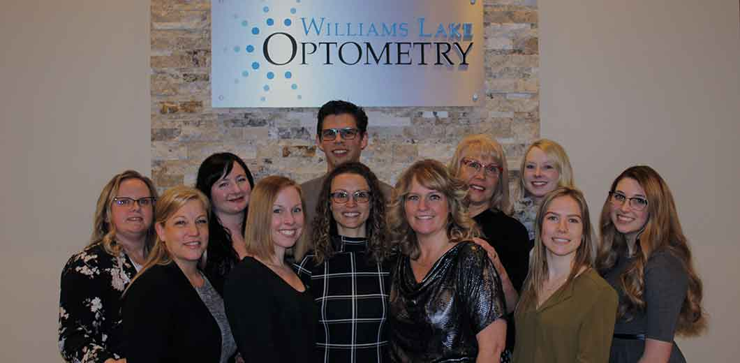Staff at Williams Lake Optometry in Williams Lake, BC