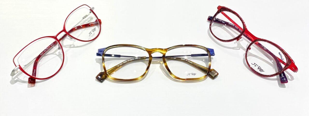 3 pairs of glasses