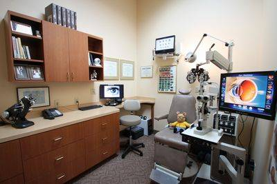 Boca Raton Eye Exam Room