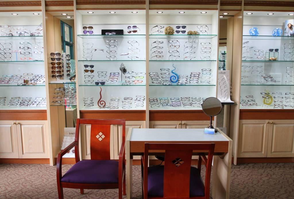 Optical section in Boca Raton, FL Eye Clinic