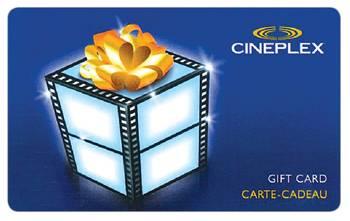 cineplex gift card