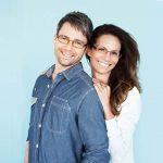 Family Wearing Superflex Designer Eyeglass Frames in Maple Ridge, BC