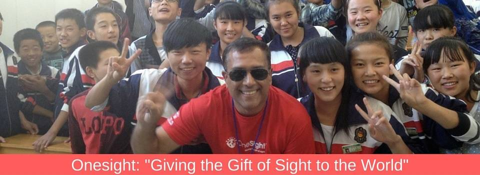 Giving the gift of Sight. Eye Doctor - Raleigh, Durham, Cary, Burlington, Wilmington & Fayetteville, NC