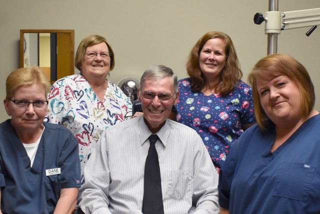 Dr Strohl and our eye care staff in Columbus, Ohio