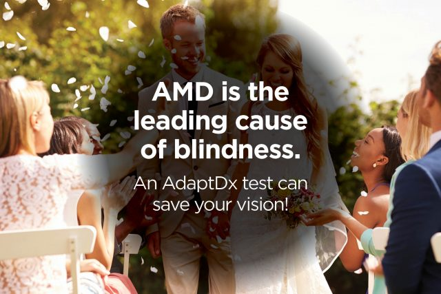 AdaptDx AMD Awareness for Patients AMD leading cause of blindness - Austin, TX