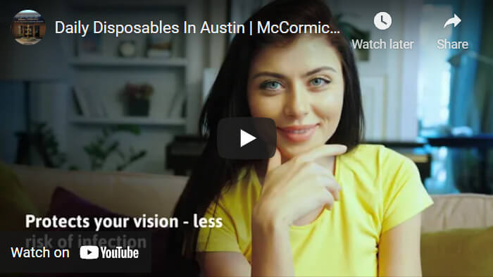video about daily disposable lenses