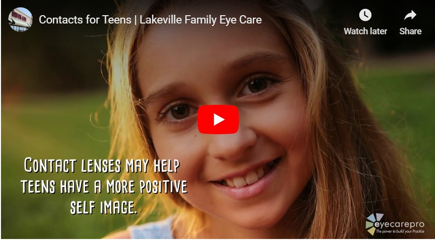 VIDEO: Contact Lenses for Teens in Lakeville, Minnesota