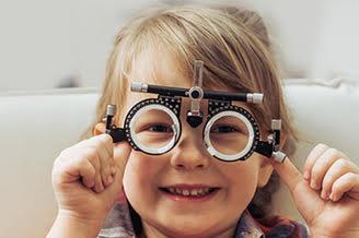 Child during eye exam - Eye Doctor, Burnsville, MN