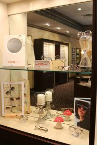 Display of designer frames in Burnsville, MN