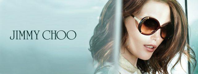 Eye doctor, woman wearing Jimmy Choo sunglasses in Winnipeg, MB