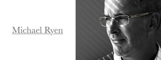 Optometrist, man wearing Michael Ryen eyeglasses in Winnipeg, MB