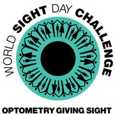 Optometrists Giving Sight Logo