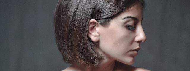 Woman Sideview Closed Eyes 1280x480 640x240