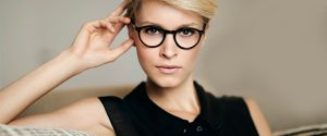 Woman wearing MODO eyeglasses