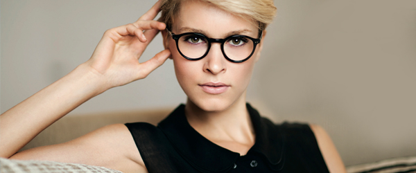 Woman wearing MODO eyeglasses