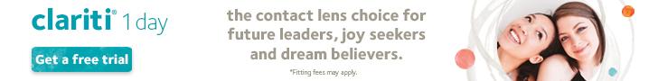Promotion for Clarity 1 Day lenses - eye care - Phoenix, Glendale & Mesa, AZ
