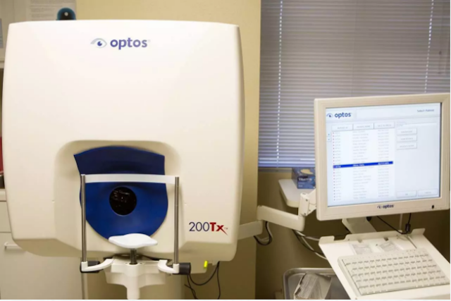 Technology for eye exam, optometrist, kissimmee & Lakeland, FL