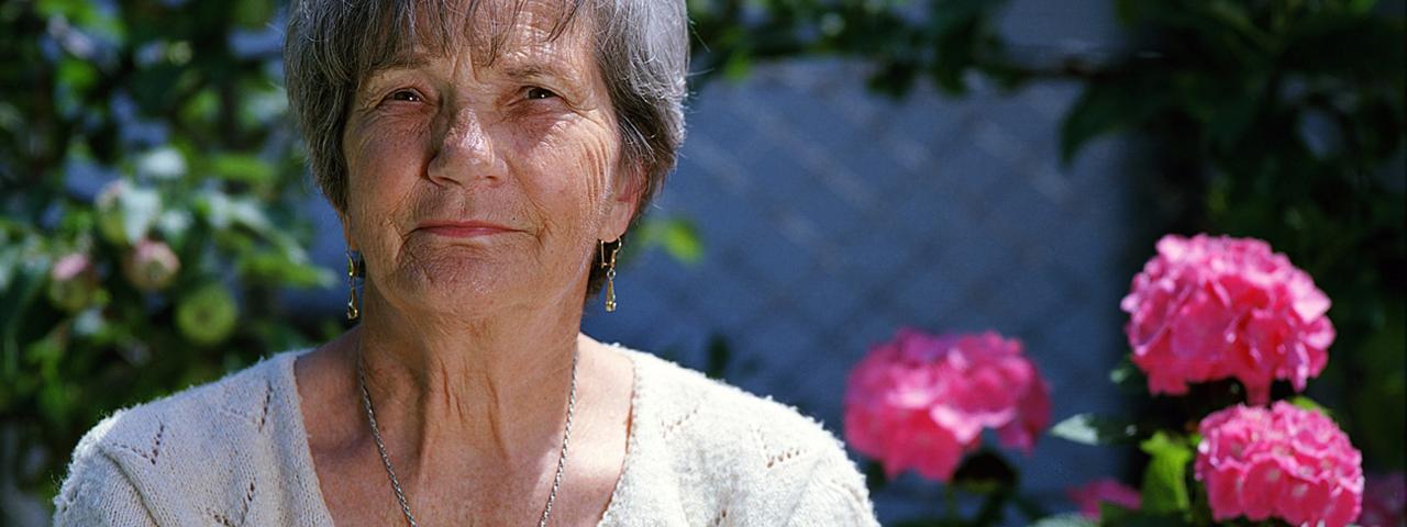 eye doctor, Elderly Woman Pink Flower in Kissimmee, Lakeland, FL