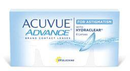 Acuve advance for astigmatism
